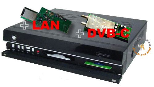 EVOLUTION MASTER + DVB-C + LAN
